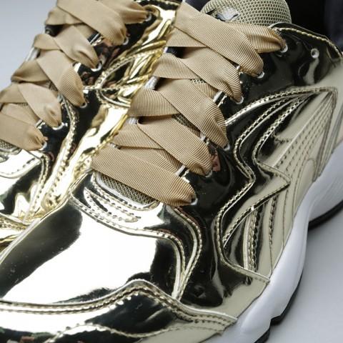женские золотые  кроссовки puma prevail metal wn's 36413502 - цена, описание, фото 5