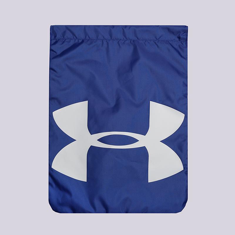 Мешок Under armour UA Ozzie SackpackСумки, рюкзаки<br>Полиэстер<br><br>Цвет: Синий<br>Размеры : OS