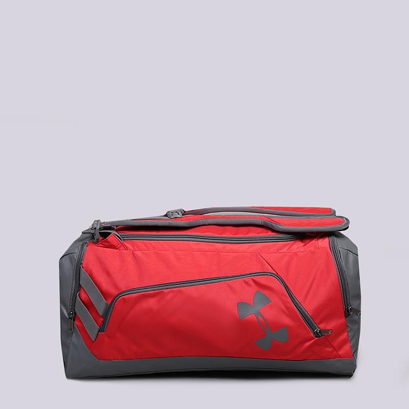 Сумка Under armour Undernianble BP/Duffel MD 39LСумки, рюкзаки<br>Полиэстер<br><br>Цвет: Красный<br>Размеры : OS