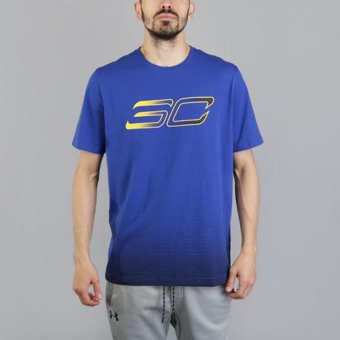 Футболка Under armour SC30 Faded Logo Tee