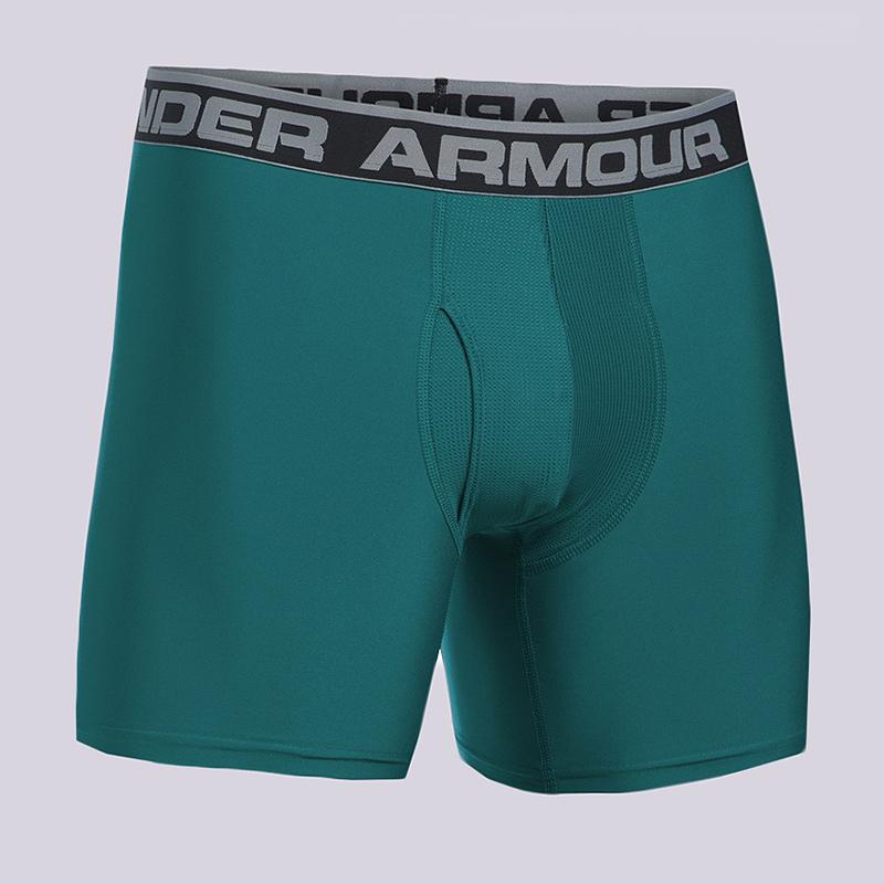 Компрессионные боксеры Under armour BoxerjockКомпрессионное белье<br>90% полиэстер, 10% эластан<br><br>Цвет: Бирюзовый<br>Размеры US: S;L;XL<br>Пол: Мужской