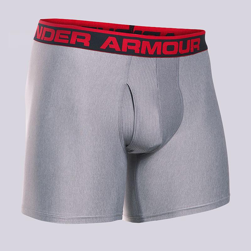 Компрессионные боксеры Under armour BoxerjockКомпрессионное белье<br>90% полиэстер, 10% эластан<br><br>Цвет: Серый<br>Размеры US: S<br>Пол: Мужской