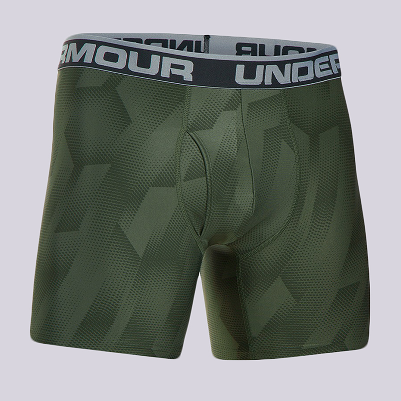 Компрессионные боксеры Under armour BoxerjockКомпрессионное белье<br>90% полиэстер, 10% эластан<br><br>Цвет: Зеленый<br>Размеры : S;M;L;XL<br>Пол: Мужской