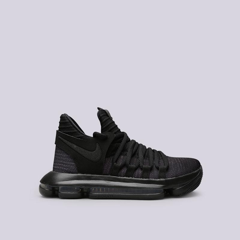 Кроссовки Nike Zoom KD10 (GS)Кроссовки баскетбольные<br>Текстиль, резина<br><br>Цвет: Черный<br>Размеры US: 3.5Y;4.5Y;4Y;5.5Y;5Y;6Y<br>Пол: Женский