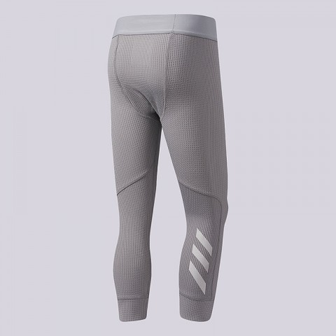 серые  тайтсы adidas harden alpha tights CE7526 - цена, описание, фото 2