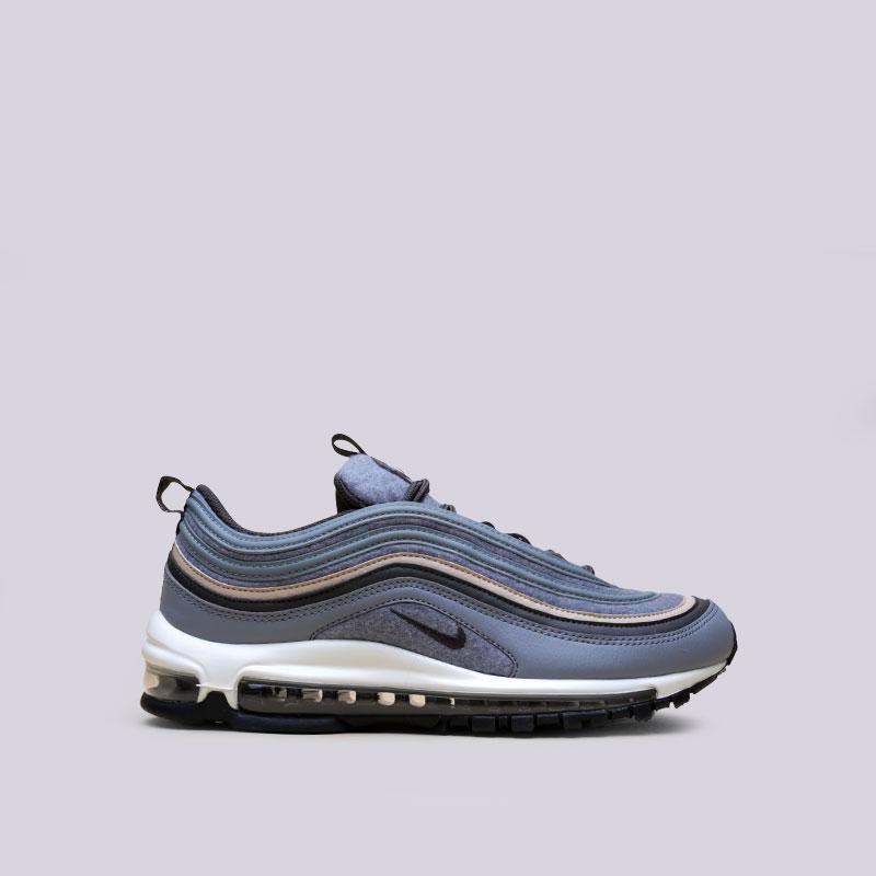 Кроссовки  Nike Air Max 97 PremiumКроссовки lifestyle<br>Текстиль, резина<br><br>Цвет: Серый<br>Размеры US: 8;10.5;11;11.5;13;14;15<br>Пол: Мужской