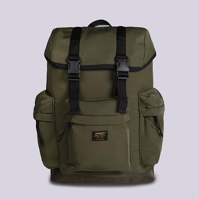 Рюкзак Carhartt WIP Military Backpack 23LСумки, рюкзаки<br>Полиэстер<br><br>Цвет: Зеленый<br>Размеры : OS