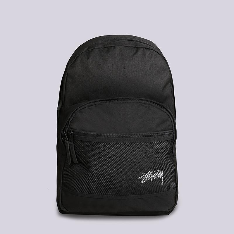 Рюкзак Stussy Stock Backpack 18LСумки, рюкзаки<br>Полиэстер<br><br>Цвет: Черный<br>Размеры US: OS