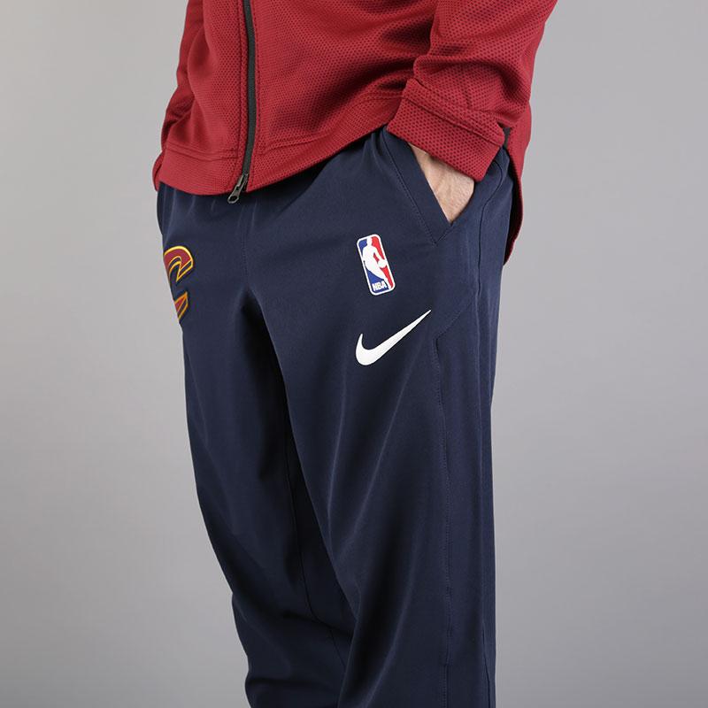 мужские синие  брюки nike cleveland cavaliers showtime pant 859133-451 - цена, описание, фото 5