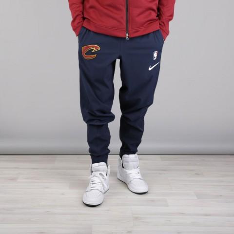 мужские синие  брюки nike cleveland cavaliers showtime pant 859133-451 - цена, описание, фото 2