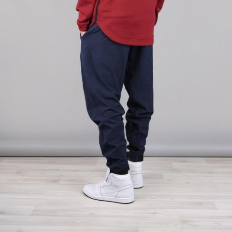 мужские синие  брюки nike cleveland cavaliers showtime pant 859133-451 - цена, описание, фото 3