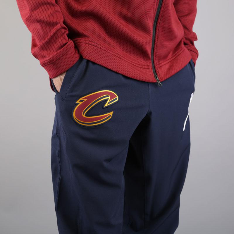 мужские синие  брюки nike cleveland cavaliers showtime pant 859133-451 - цена, описание, фото 4