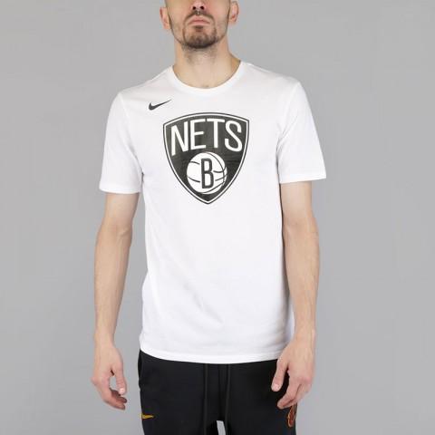 Футболка Nike Brooklyn Nets Dry Logo NBA T-Shirt