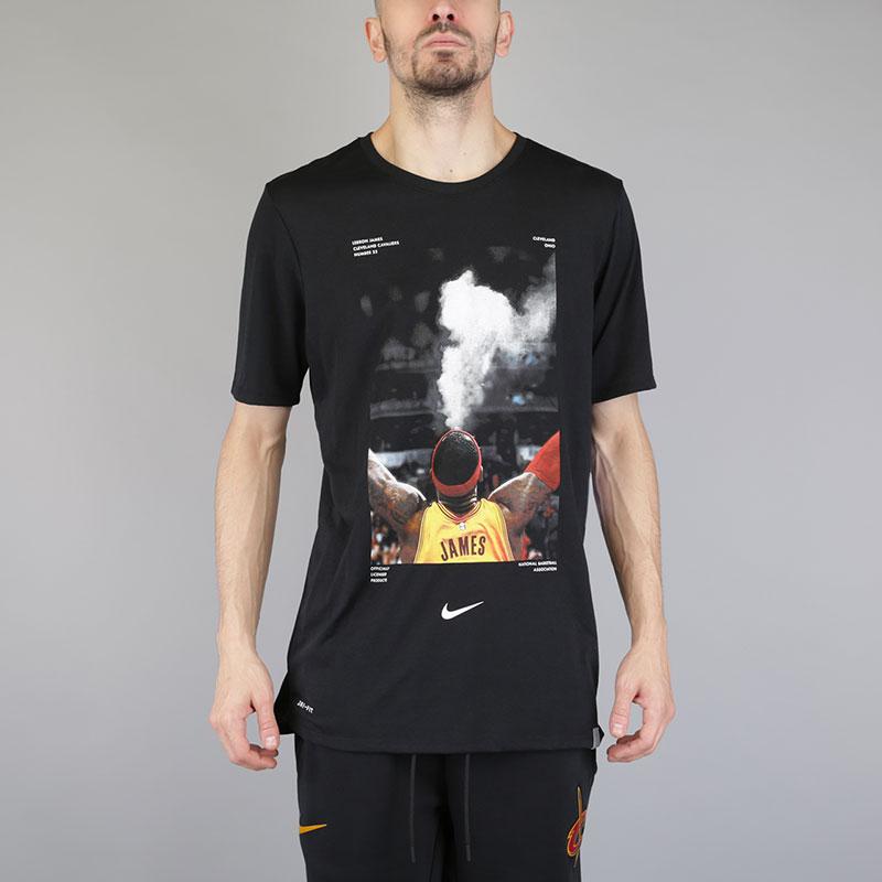 Футболка Nike NBA Dry Tee Ppack 2Футболки<br>Полиэстер, хлопок, вискоза<br><br>Цвет: Черный<br>Размеры US: S;M;L;XL;2XL<br>Пол: Мужской