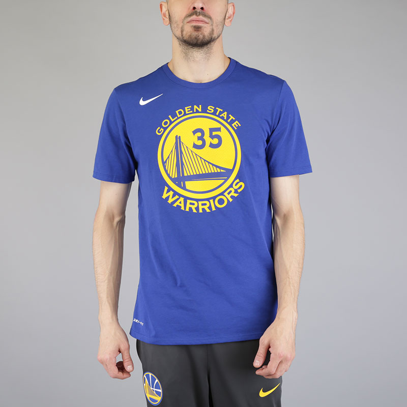 Футболка Nike Kevin Durant Golden State Warriors Dry Tee