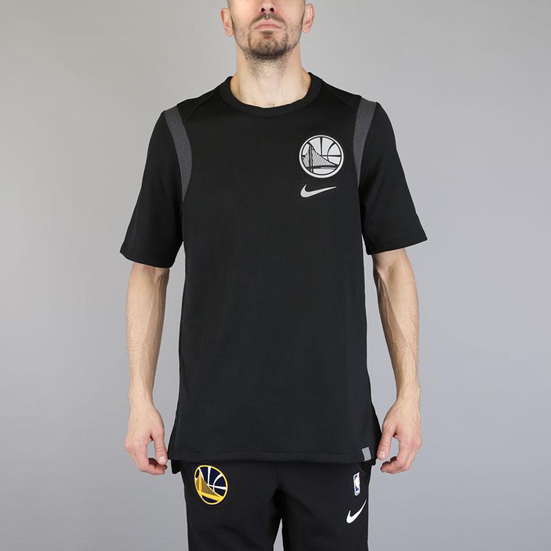 Футболка Nike NBA Golden State Warriors Baller TeeФутболки<br>Хлопок, полиэстер<br><br>Цвет: Черный<br>Размеры US: S;M;L;XL;2XL<br>Пол: Мужской