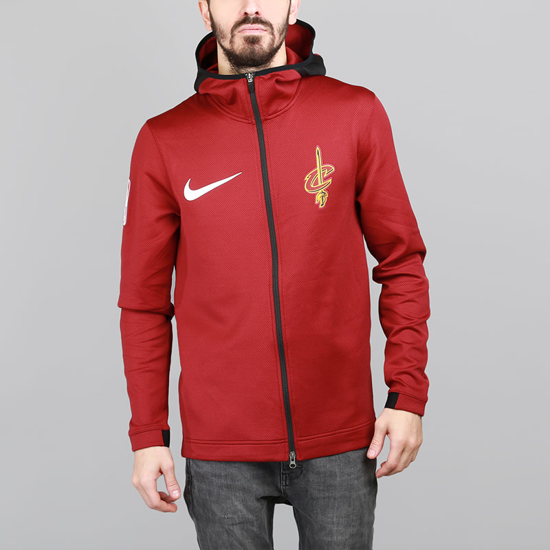 Толстовка Nike Cleveland Cavaliers ThermaFlex ShowtimeТолстовки свитера<br>Полиэстер, эластан<br><br>Цвет: Бордовый<br>Размеры US: S;M;XL;2XL<br>Пол: Мужской