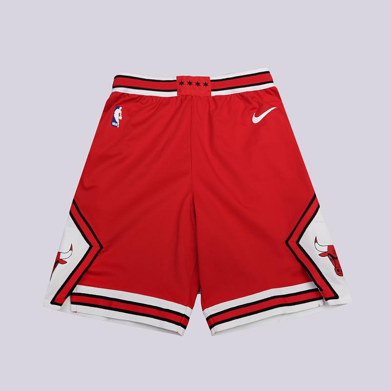 Шорты Nike Chicago Bulls Icon Edition Authentic NBA ShortsШорты<br>100% полиэстер<br><br>Цвет: Красный<br>Размеры US: 30;34;38;42;46;50<br>Пол: Мужской