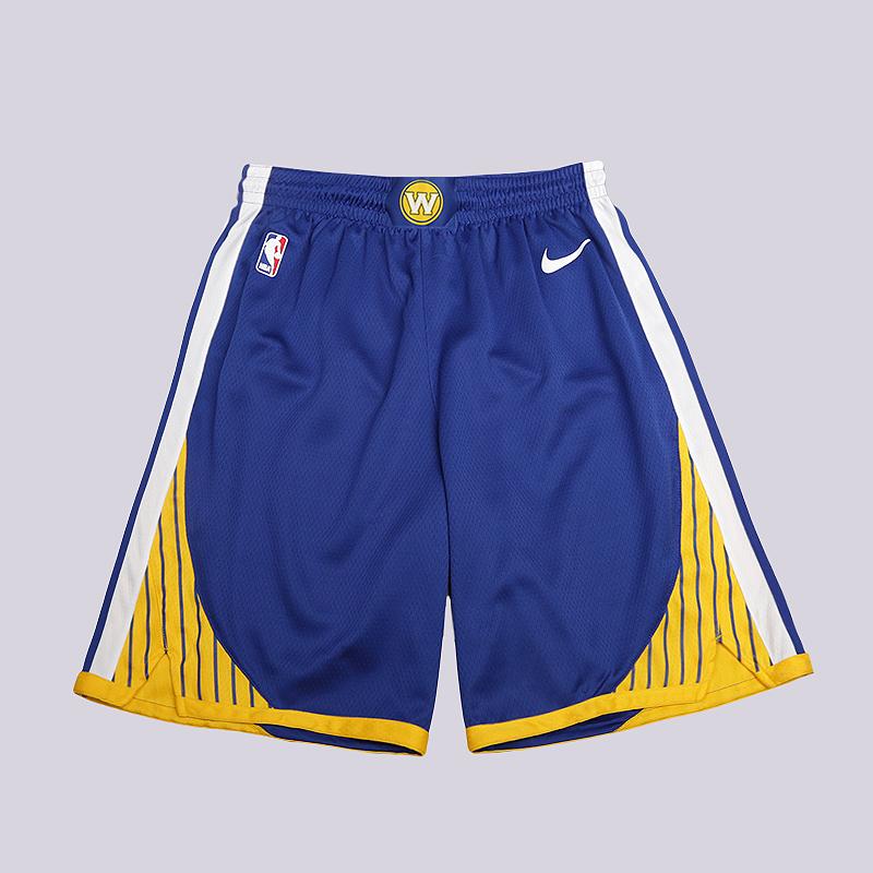 Шорты Nike Golden State Warriors Icon Edition Swingman NBA ShortsШорты<br>100% полиэстер<br><br>Цвет: Синий<br>Размеры US: S;M;L;2XL<br>Пол: Мужской