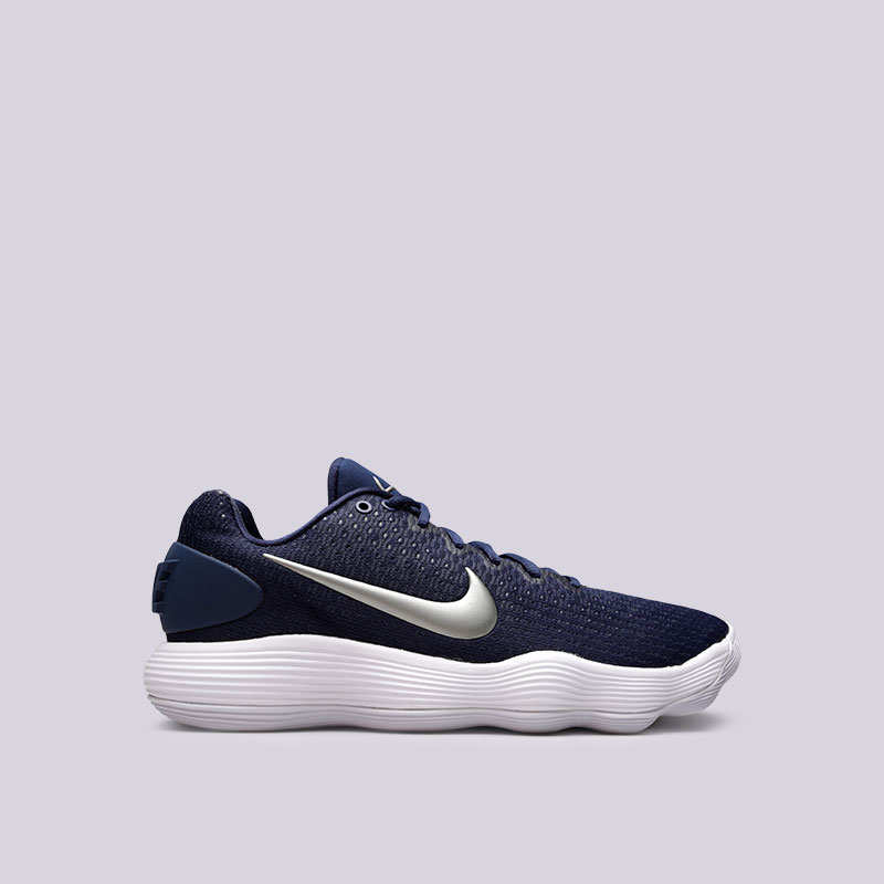 Кроссовки Nike Hyperdunk 2017 Low TBКроссовки баскетбольные<br>Текстиль, пластик, резина<br><br>Цвет: Синий<br>Размеры US: 8<br>Пол: Мужской