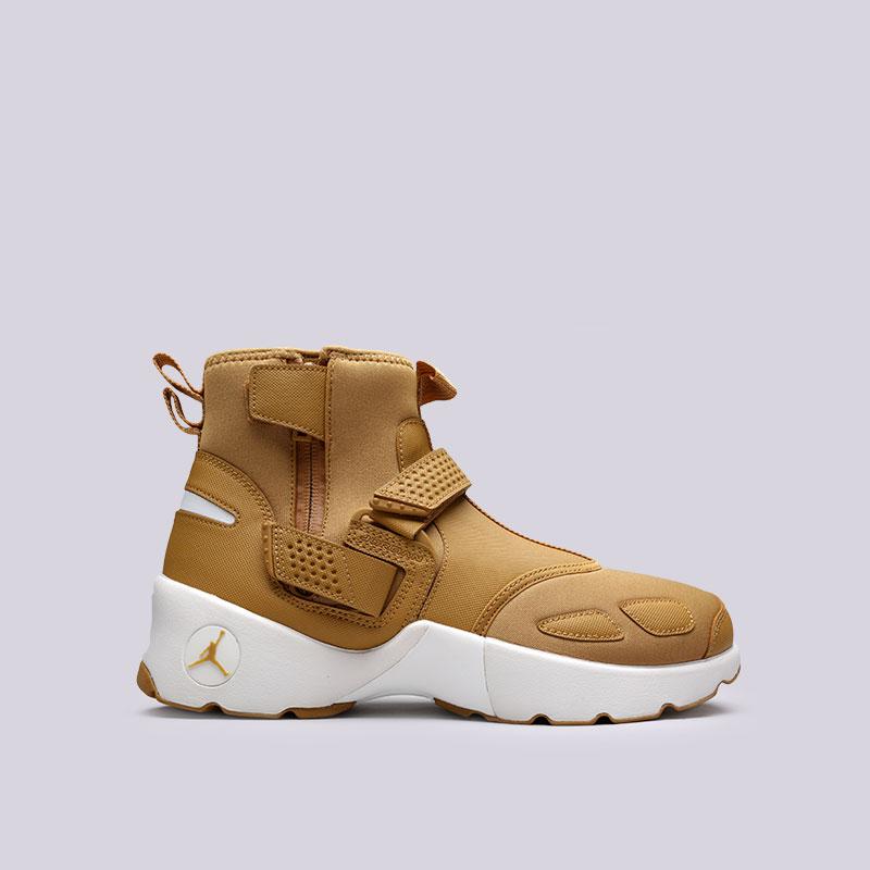 Кроссовки Jordan Trunner LX HighКроссовки lifestyle<br>Текстиль, синтетика, резина, пластик<br><br>Цвет: Коричневый<br>Размеры US: 11.5<br>Пол: Мужской