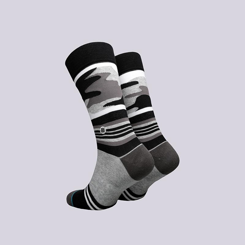 мужские серые, чёрные  носки stance harden camo M545C17HAR- - цена, описание, фото 2