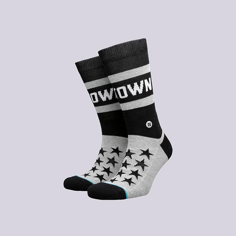 Носки Stance H-TownНоски<br>Хлопок, эластан, нейлон<br><br>Цвет: Серый, чёрный<br>Размеры : L<br>Пол: Мужской