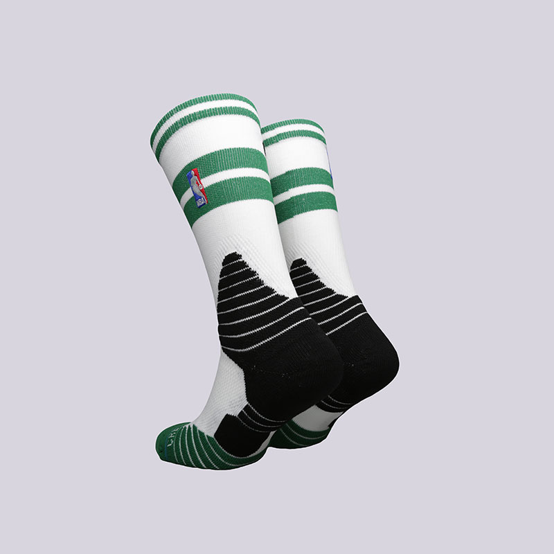 мужские белые, зелёные, чёрные  носки stance core crew celtics M559C5CCCE- WHITE - цена, описание, фото 2
