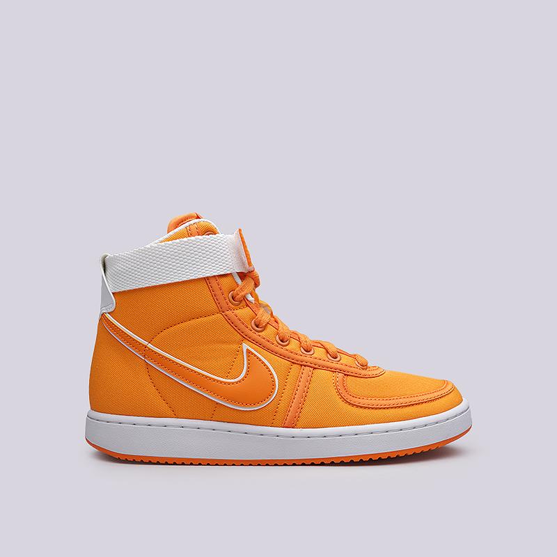 Кроссовки Nike Vandal High Supreme CNVS QSКроссовки lifestyle<br>Текстиль, резина<br><br>Цвет: Оранжевый<br>Размеры US: 8;8.5<br>Пол: Мужской