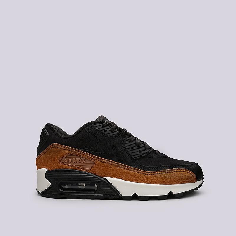 Кроссовки Nike WMNS Air Max 90 LXКроссовки lifestyle<br>Кожа, текстиль, резина, прочие материалы<br><br>Цвет: Черный, коричневый<br>Размеры US: 6;6.5;7;7.5;8;8.5;9<br>Пол: Женский