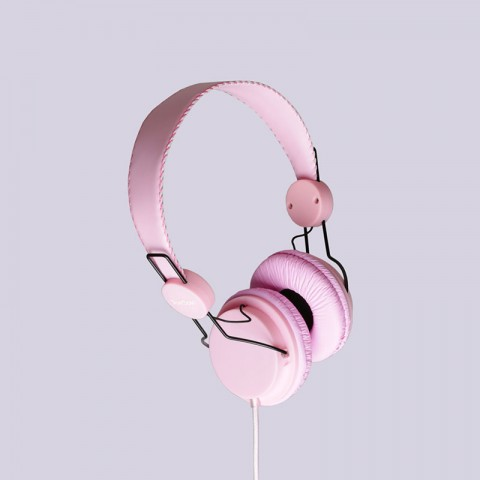 розовые  наушники true spin headphone lavander Headphone-lavander - цена, описание, фото 1
