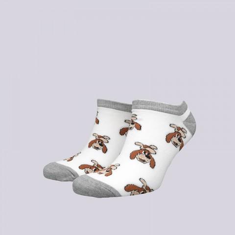 мужские белые  носки запорожец heritage шарик Шарик корот-бел - цена, описание, фото 1