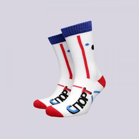 мужские белые  носки запорожец heritage спорт Спорт-мнц/махр/бел - цена, описание, фото 1
