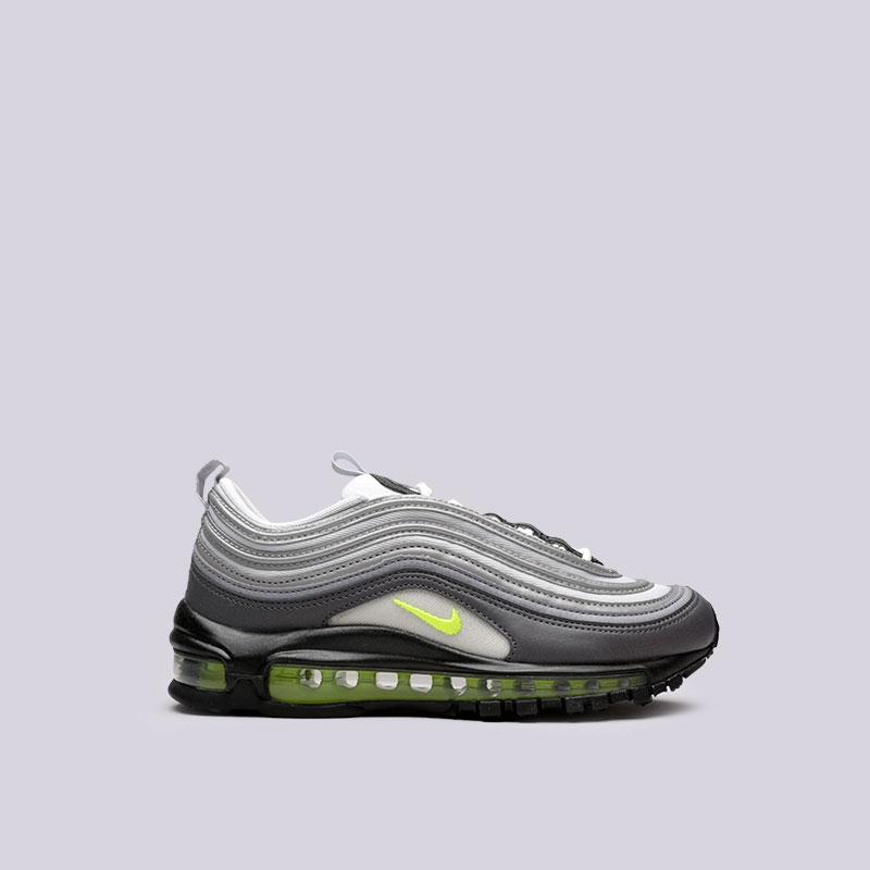 Кроссовки Nike WMNS Air Max 97Кроссовки lifestyle<br>Текстиль, резина<br><br>Цвет: Серый<br>Размеры US: 6;6.5;7;7.5;8;8.5;9<br>Пол: Женский