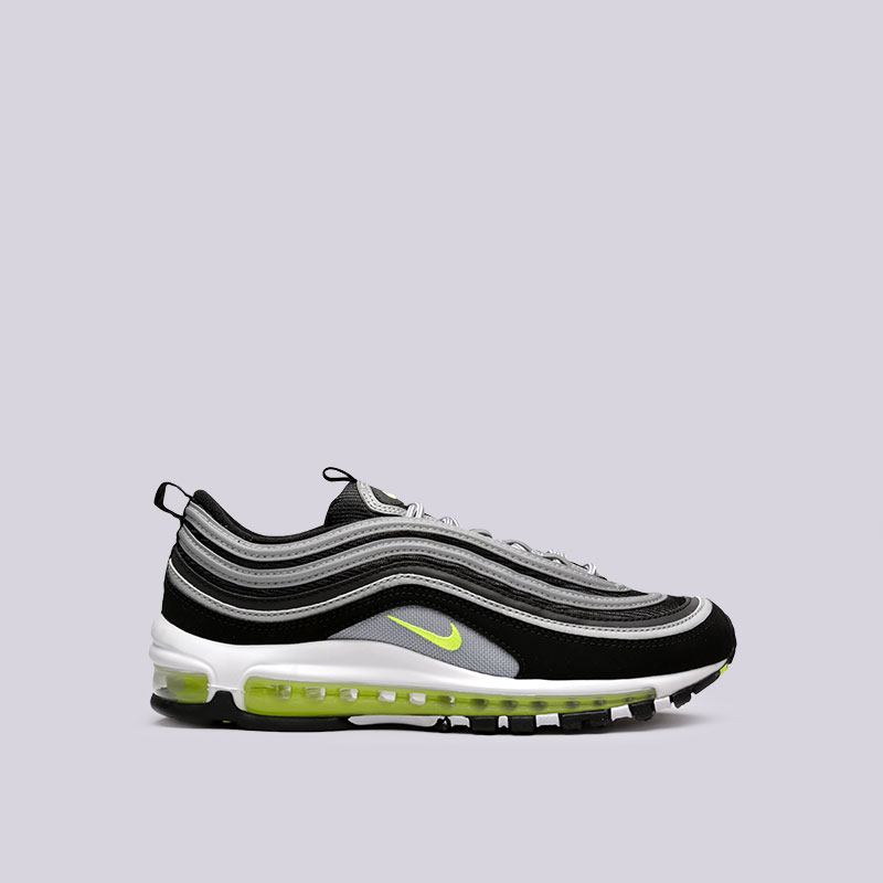 Кроссовки Nike Air Max 97Кроссовки lifestyle<br>Текстиль, резина<br><br>Цвет: Серый<br>Размеры US: 11;11.5;12<br>Пол: Мужской