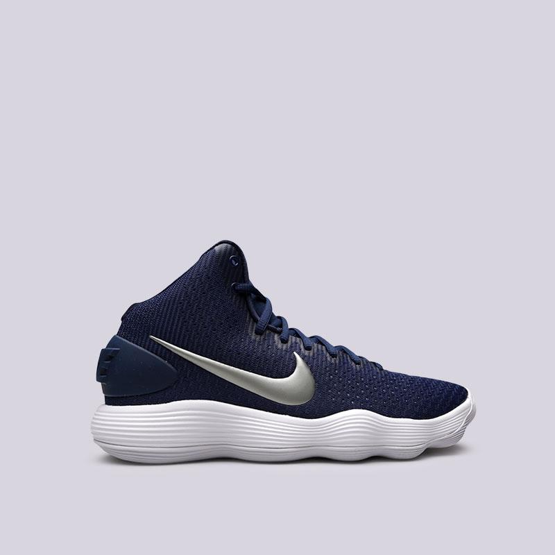 Кроссовки Nike Hyperdunk 2017 TBКроссовки баскетбольные<br>Текстиль, пластик, резина<br><br>Цвет: Синий<br>Размеры US: 8;8.5;9.5;10;10.5;11;11.5;12;13;13.5<br>Пол: Мужской