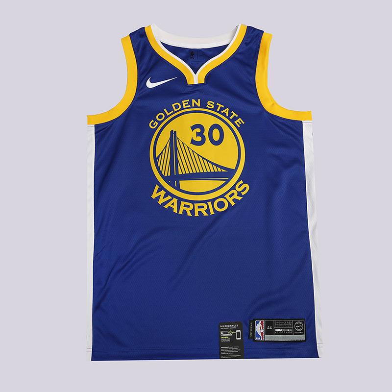 Майка Nike Icon Swingman NBA Stephen Curry Golden State WarriorsБезрукавки<br>100% полиэстер<br><br>Цвет: Синий<br>Размеры US: S;M;L;XL;2XL<br>Пол: Мужской