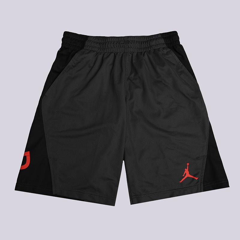 Шорты Jordan Flight Basketball ShortsШорты<br>100% полиэстер<br><br>Цвет: Черный, серый<br>Размеры US: L<br>Пол: Мужской