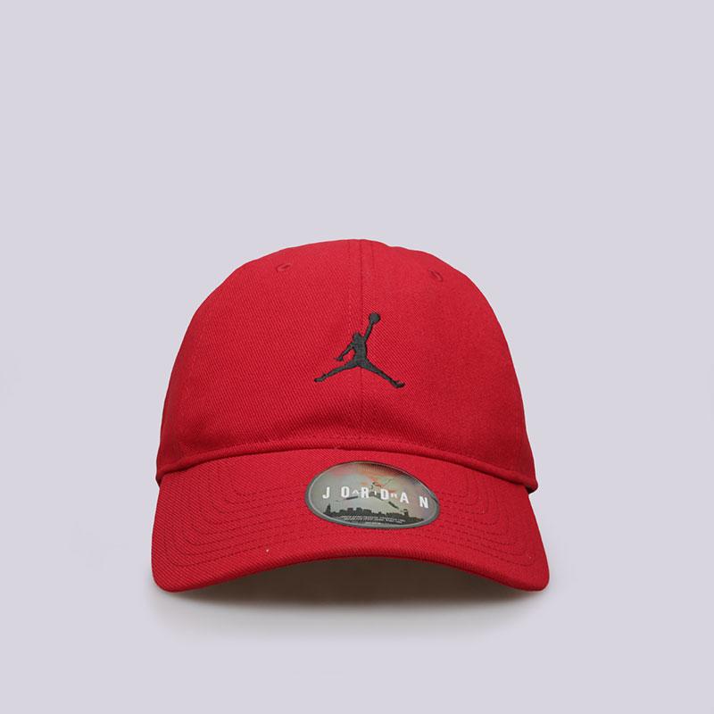 Кепка Jordan H86Кепки<br>Полиэстер, хлопок<br><br>Цвет: Красный<br>Размеры US: OS