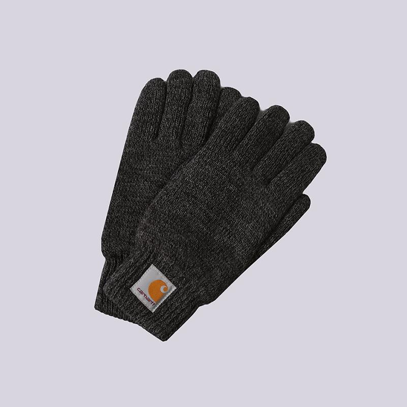 Перчатки Carhartt WIP Scott GlovesПерчатки<br>100% акрил<br><br>Цвет: Серый<br>Размеры : M;L