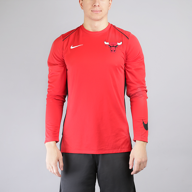 Лонгслив Nike Chicago Bulls Hyper Elite Long-Sleeve NBA TopТолстовки свитера<br>100% полиэстер<br><br>Цвет: Красный<br>Размеры US: S;M;L;XL;2XL<br>Пол: Мужской