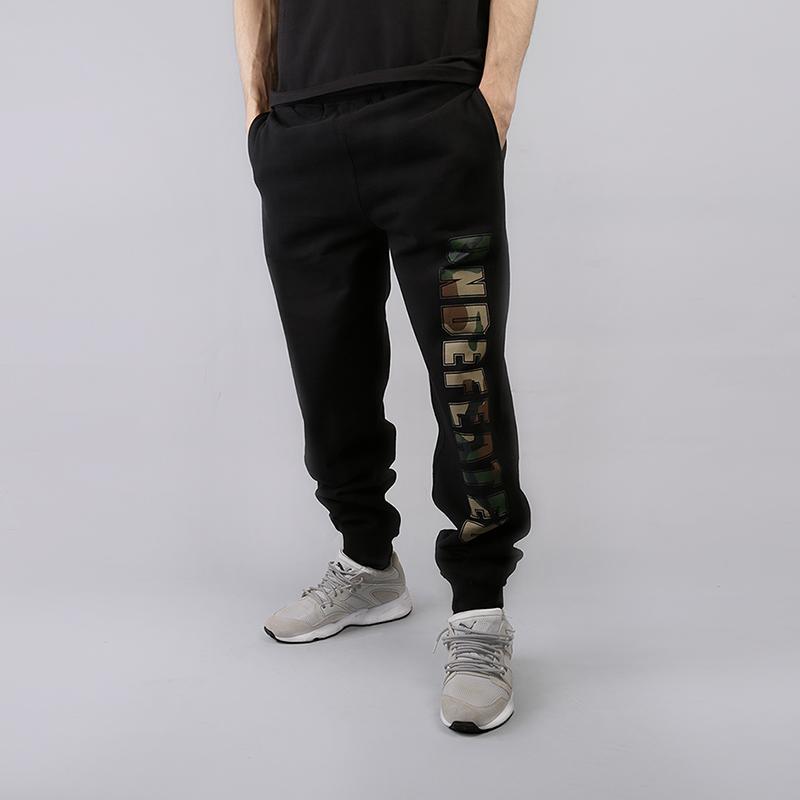 Брюки Undftd Compact SweatpantБрюки и джинсы<br>80% хлопок, 20% полиэстер<br><br>Цвет: Черный<br>Размеры US: L<br>Пол: Мужской