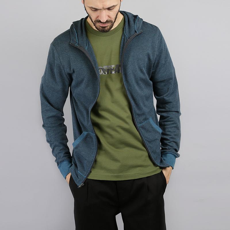 Толстовка Ambiguous NavyТолстовки свитера<br>60% хлопок, 40% полиэстер<br><br>Цвет: Синий<br>Размеры US: S;M;XL<br>Пол: Мужской