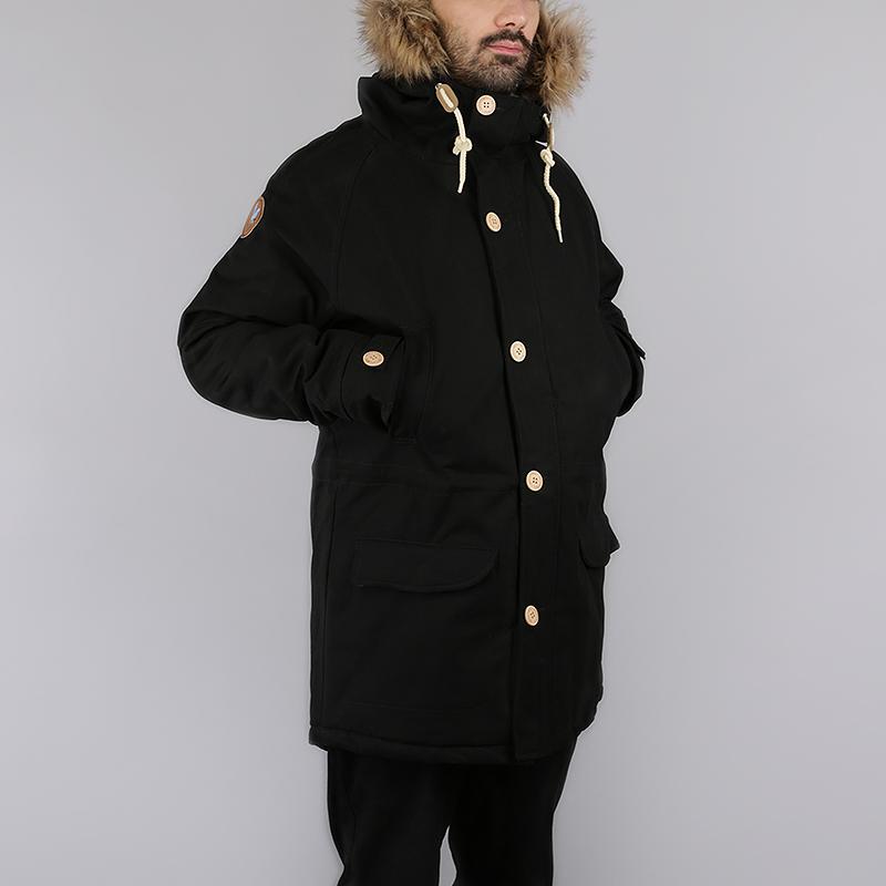 Куртка Запорожец heritage Ditch ParkaКуртки, пуховики<br>100% хлопок, внутренний наполнитель: 100% полиэстер<br><br>Цвет: Черный<br>Размеры : S;M;L;XL<br>Пол: Мужской