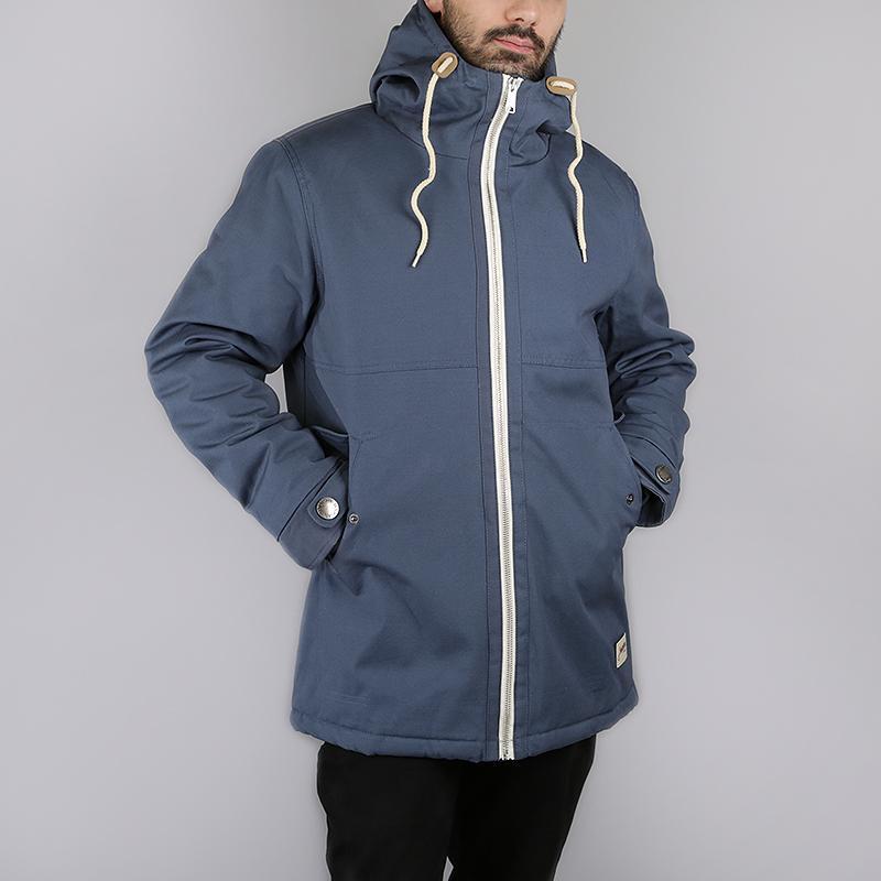 Куртка Запорожец heritage Retro ZipperКуртки, пуховики<br>100% хлопок, внутренний наполнитель: 100% полиэстер<br><br>Цвет: Синий<br>Размеры : S;M;L<br>Пол: Мужской