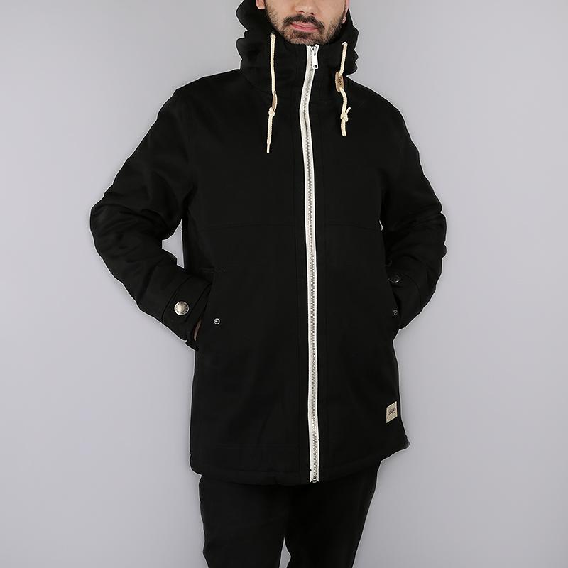 Куртка Запорожец heritage Retro ZipperКуртки, пуховики<br>100% хлопок, внутренний наполнитель: 100% полиэстер<br><br>Цвет: Черный<br>Размеры : S;L<br>Пол: Мужской