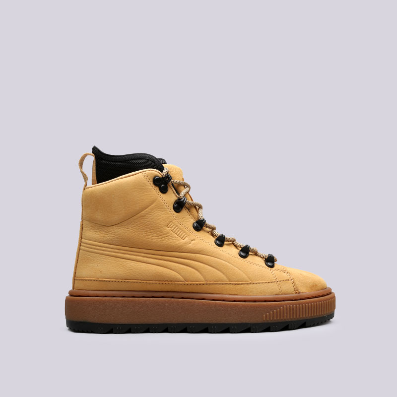 Ботинки Puma The Ren Boot NBKБотинки<br>Кожа, текстиль, резина<br><br>Цвет: Коричневый<br>Размеры UK: 4.5;5.5;6;7;7.5;8;8.5;9;10;10.5;11