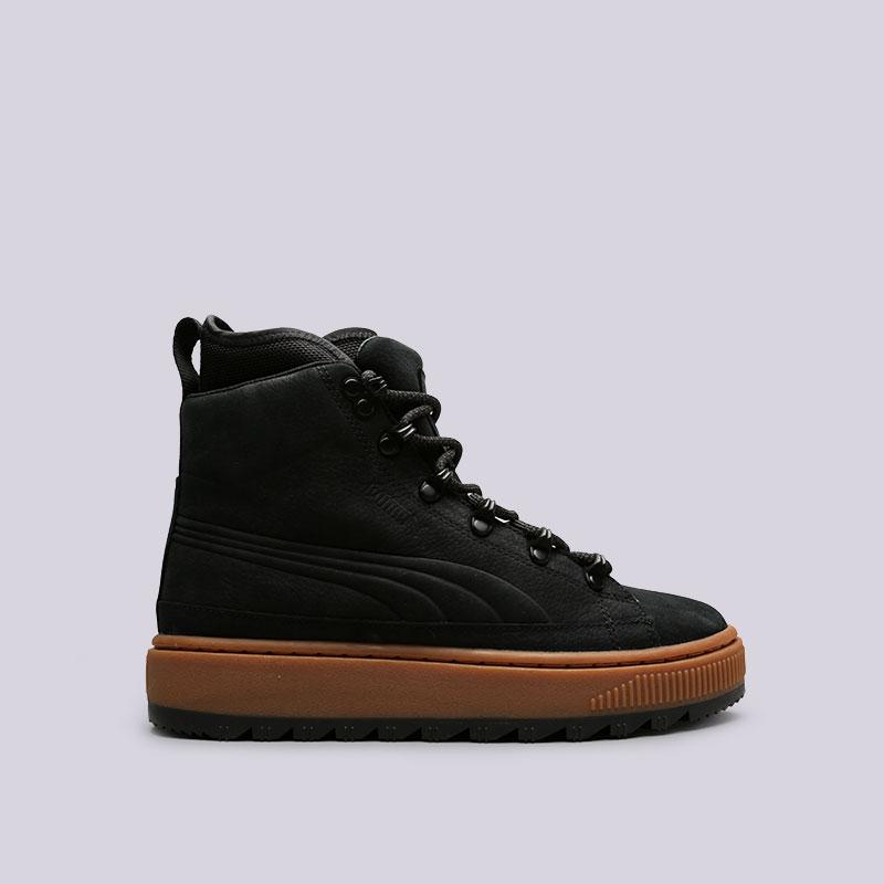 Ботинки Puma The Ren Boot NBKБотинки<br>Кожа, текстиль, резина<br><br>Цвет: Черный<br>Размеры UK: 9