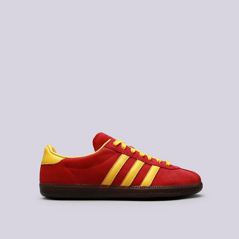 Кроссовки adidas Spritus SPZLКроссовки lifestyle<br>Кожа, текстиль, резина<br><br>Цвет: Красный, желтый<br>Размеры UK: 7;7.5;8;8.5;9;9.5;10;10.5;11<br>Пол: Мужской