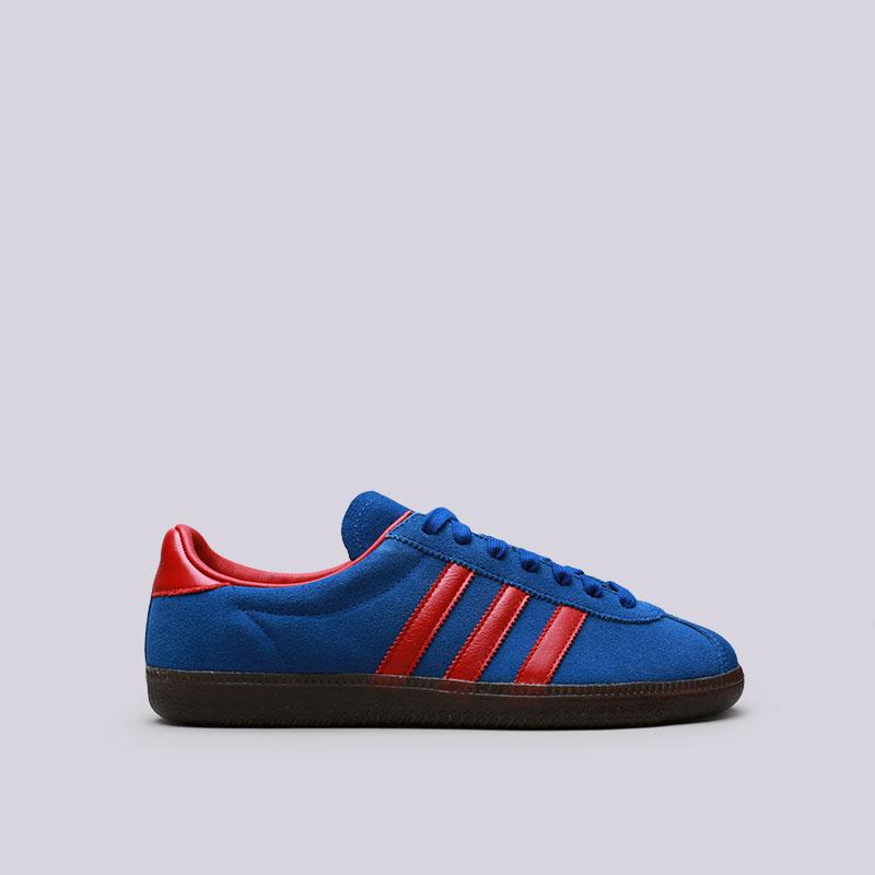 Кроссовки adidas Spritus SPZLКроссовки lifestyle<br>Кожа, текстиль, резина<br><br>Цвет: Синий, красный<br>Размеры UK: 7;7.5;8;9;10.5<br>Пол: Мужской